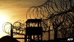 Тюрьма в Гуантанамо.