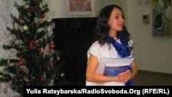 Керівник грецького молодіжного крила Марина Сегірова