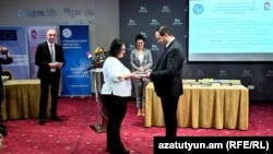 "RFE/RL Armenian Service, being named ""Media of The Year"" by the Anti-Corruption Coalition of Armenian Civil Society Organizations"