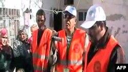 Сирияның Дараа провинциясында жүрген араб лигасы ұйымының бақылаушылары. 4 қаңтар 2012 жыл.