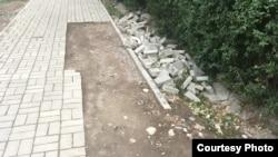 Бишкек. Тротуары