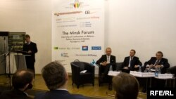 Ілюстрацыйнае фота. Падчас мінулага Менскага форуму, 4 лістапада 2009 году