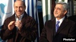 Robert Koçaryan və Serj Sarkisyan