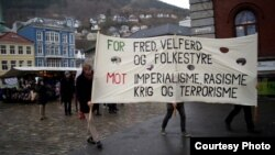 Первомай-2013 в Бергене