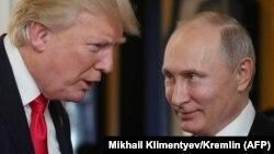 Доналд Трамп ва Владимир Путин