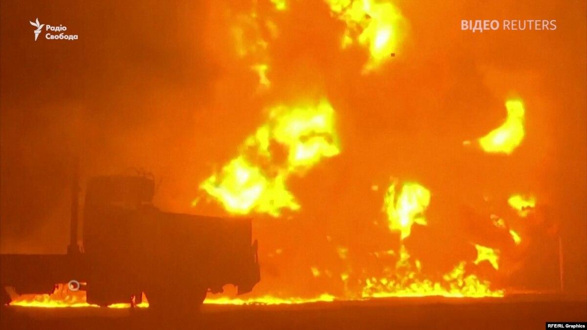 По меньшей мере три человека погибли в результате взрыва на нефтепроводе – видео