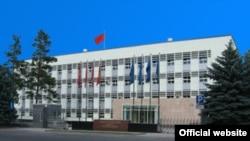 Кыргызстандын Тышкы иштер министрлигинин имараты.