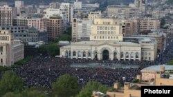 Protestari duminică la Erevan