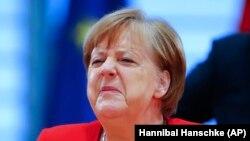 Գերմանիա - Կանցլեր Անգելա Մերկելը կառավարության նիստի ժամանակ, Բեռլին, 6-ը մայիսի, 2020թ.
