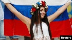 Rusiya İngiltərə matçında rus fanatı EURO 2016