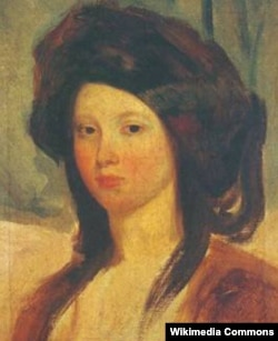 Juliette Drouet-in portret, 1837
