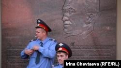Міліцыя на Краснай плошчы ў Маскве (архіўнае фота).