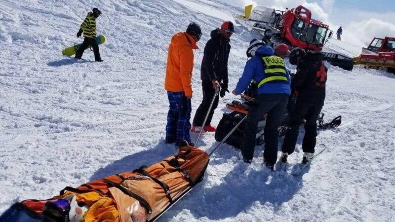 Վրացական հանգստավայրում ճոպանուղու վթարի պատճառով առնվազն 10 մարդ է վիրավորվել