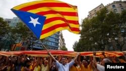 Каталония бәйсезлеге тарафдарлары