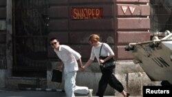 Sarajevo sub asediu, ianuarie 1995