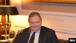 грчкиот министер за надворешни работи Евангелос Венизелос