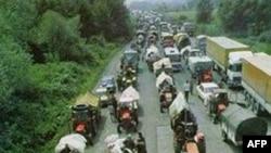 """Odlazak Srba iz Hrvatske tokom akcije """"Oluja"""" 1995."""
