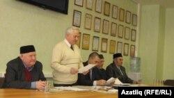Фнүн Мирзаянов чыгыш ясый