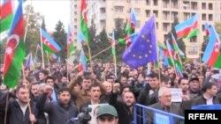 Azərbaycanda etiraz aksiyası, 2014-cü il
