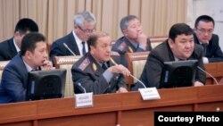 ИИМ министри Мелис Турганбаев