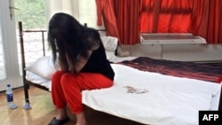 Проститутка - жертва траффикинга. Иллюстративное фото