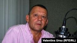 Kalman Mizsei în studioul de la Chișinău al Europei Libere