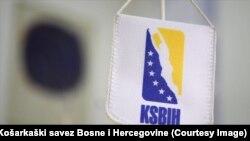 Zastava Košarkaškog saveza Bosne i Hercegovine