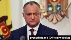 Президент Молдови Ігор Додон