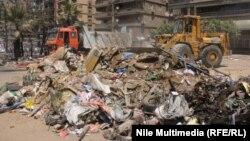 Եգիպտոս - Մայրաքաղաք Կահիրեի փողոցներից մեկը իսլամիստների հարձակումից հետո, 15-ը օգոստոսի, 2013թ․