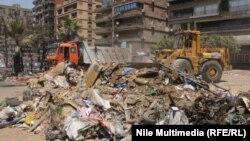 Площа в Каїрі після розгону акції протесту, 15 серпня 2013 року