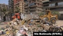 Каир после ликвидации лагерей демонстрантов (15 августа 2013 года)