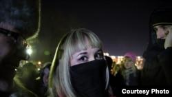 Сайлау нәтижесіне қарсы наразылық шеруі. Мәскеу, 10 желтоқсан 2011 жыл.