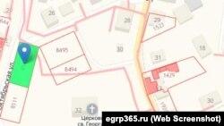 Армянское кладбище на кадастровой карте