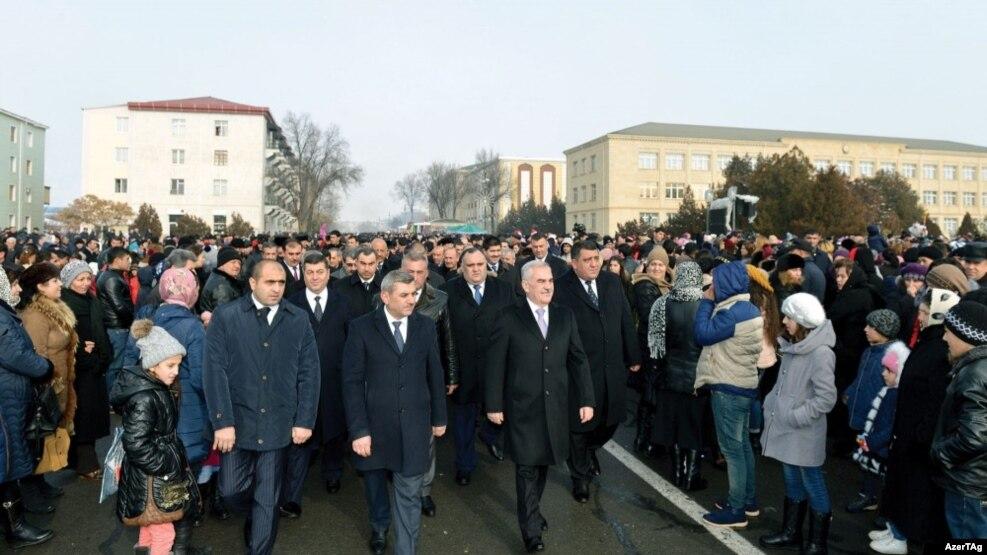 Naxçıvanda Yeni il şənliyi, 1 yanvar 2017