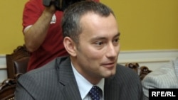 Bulgarian Foreign Minister Nikolai Mladenov