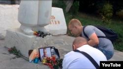 Журналісты Чарнігава ўшанавалі памяць Паўла Шарамета