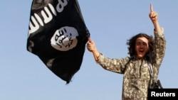 Исламист в сирийской провинции Ракка