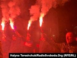 Учасники акції у Львові