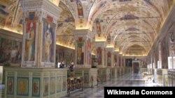 Vatikan kitabxanası