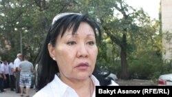 Асия Сасыкбаева, вице-спикер парламента КР