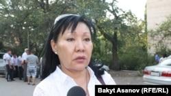Асия Сасыкбаева. Архивное фото.