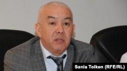 Маңғыстау облысының денсаулық сақтау басқармасы бастығы Руслан Бектібаев. Ақтау, 18 наурыз 2015 жыл.