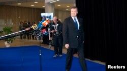 Президент Украины Виктор Янукович на саммите в Вильнюсе