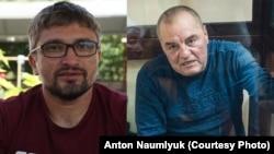 Nariman Memedeminov ve Edem Bekirov (kollaj)