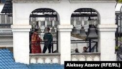 Zvonik na Katedrali Svete Marije, najvećoj crkvi u Almati, glavnom gradu Kazahstana. Ta država je na listi onih za koje Stejt department sugeriše posebno pažnju po pitanja religijskih sloboda.