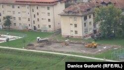 Izgradnja teniskog terena u Priboju