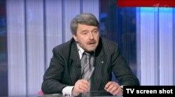 Григорий Амнуэль выступает на Первом канале