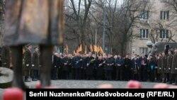 Представители украинской власти почтили память жертв Голодомора 1932-1933 годов, 25 ноября 2017 года