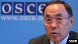 OSCE Chairman-in-Office Kanat Saudabayev visits the South Caucasus from February 15 to 17.