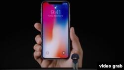 Apple компаниясының жаңа өнімі - iPhone-X-ті таныстыру. Калифорния, АҚШ, 12 қыркүйек 2017 жыл.